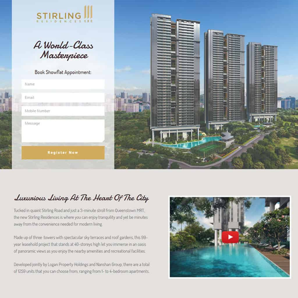 Stirling Residences Landing Page2